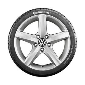 Volkswagen 17 inch lichtmetalen winterset Aspen, Touareg