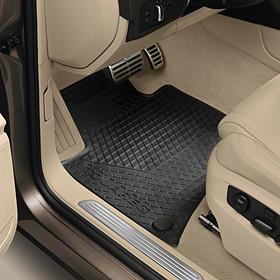 Volkswagen Rubberen mattenset Touareg, voor