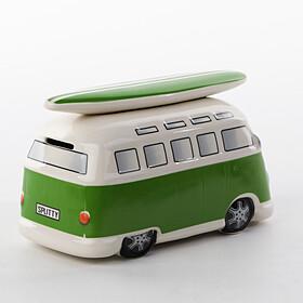 Volkswagen T1 Bulli spaarpot groen