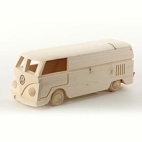 Volkswagen Model hout T1 bus, ruimte voor fles wijn