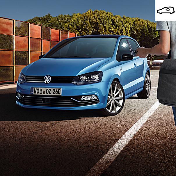 Volkswagen DVS 90 alarmsysteem met hellinghoekdetectie