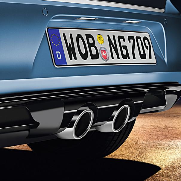 Volkswagen Diffuser met dubbele centrale uitlaat, diesel