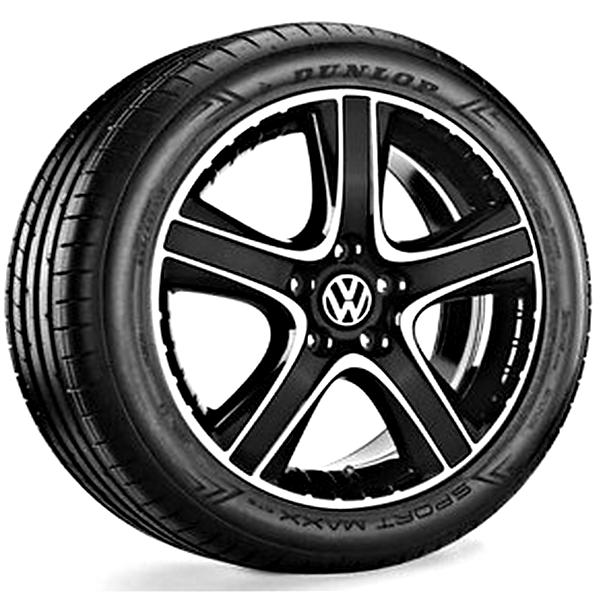 Volkswagen 18 inch lichtmetalen zomerset Dakar