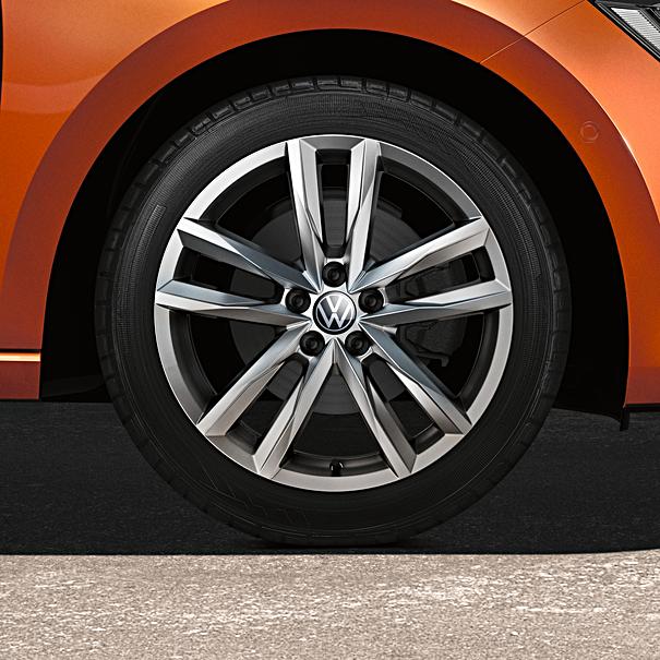 Volkswagen 17 inch lichtmetalen winterset Pamplona, Polo