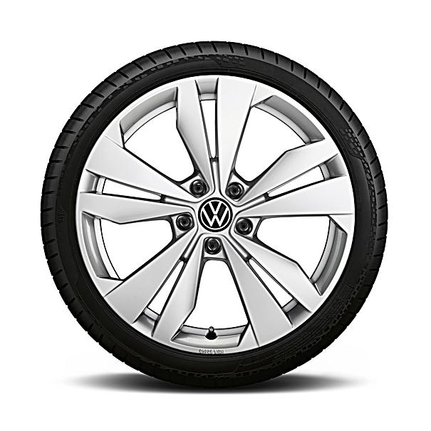 Volkswagen 20 inch winterset Loen zilver