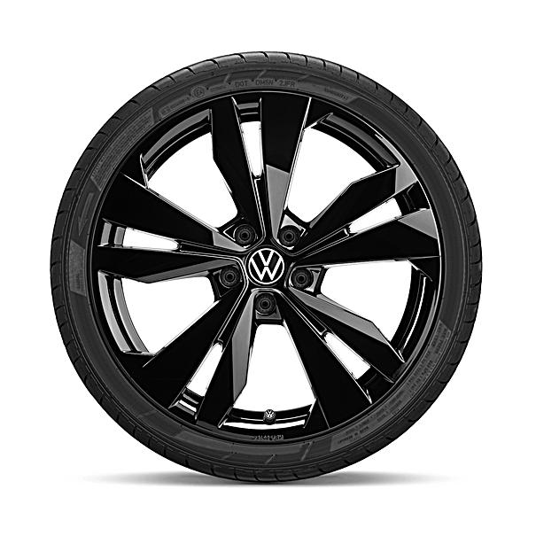 Volkswagen 20 inch lichtmetalen winterset Loen zwart