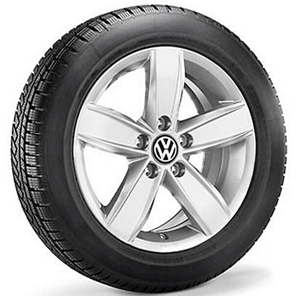 Volkswagen 16 inch lichtmetalen winterset Corvara