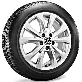 Volkswagen 17 inch lichtmetalen winterset Barahona
