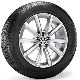 Volkswagen 16 inch lichtmetalen winterset  Merano