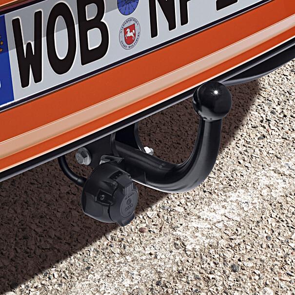Volkswagen Vaste trekhaak Polo, inclusief 13-polige kabelset