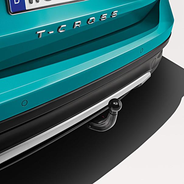 Volkswagen Afneembare trekhaak T-Cross, inclusief 13-polige kabelset