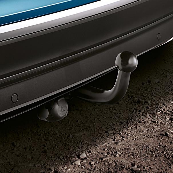 Volkswagen Zwenkbare trekhaak Tiguan, inclusief 13-polig kabelset
