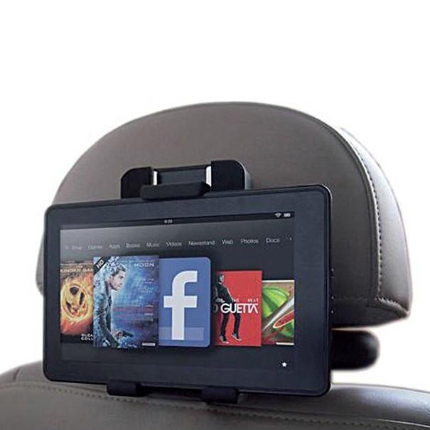Volkswagen Luxe universele tablethouder met voeding