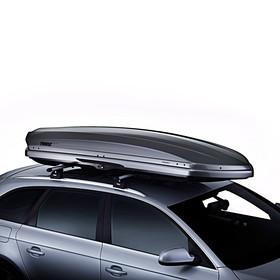 Volkswagen Thule Dynamic L bagagebox, titaangrijs