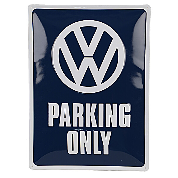Volkswagen Emaille bord, VW parking only