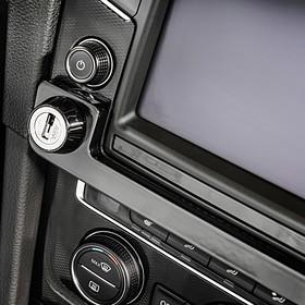 Volkswagen Discover Navilock, pianolak zwart,  Golf VII