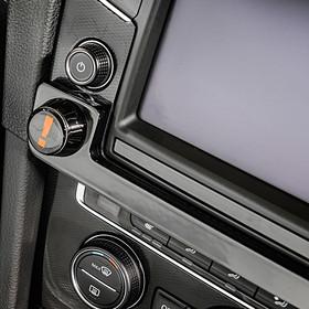 Volkswagen Discover Navilock, aluminium look, Golf VII