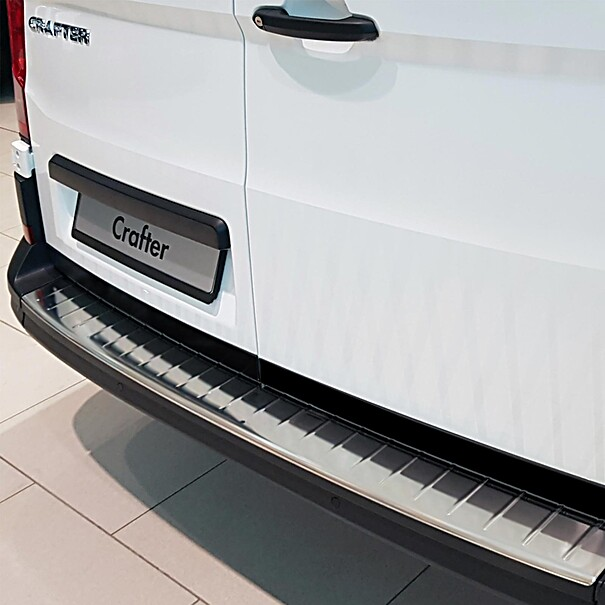 Volkswagen Achterbumper beschermlijst RVS, Crafter