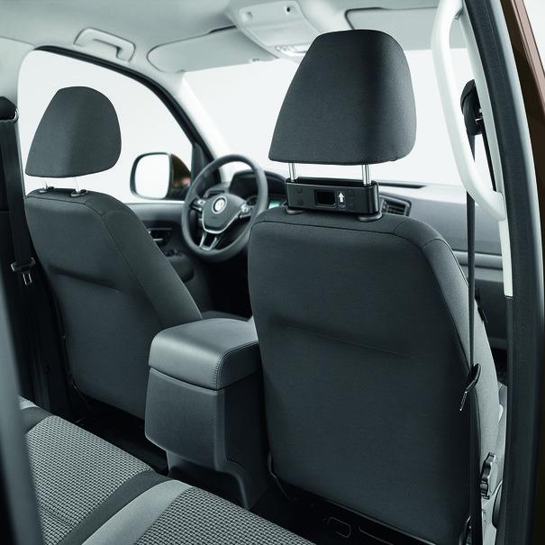 Volkswagen Bedrijfswagens Basishouder reis- en comfortsysteem