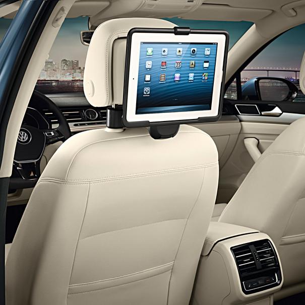 Volkswagen Bedrijfswagens Tablethouder voor de iPad 2-4