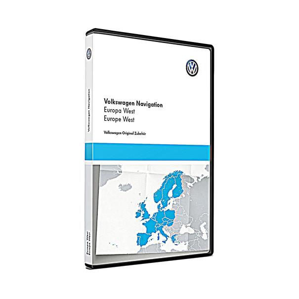 Volkswagen Bedrijfswagens Navigatie update, West-Europa (V16)