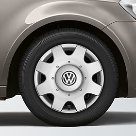 Volkswagen Bedrijfswagens 16 inch wieldoppenset