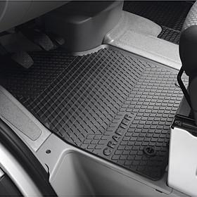 Volkswagen Bedrijfswagens All-weather mattenset Crafter, voorzijde