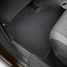 Volkswagen Bedrijfswagens Velours mattenset Amarok, achter