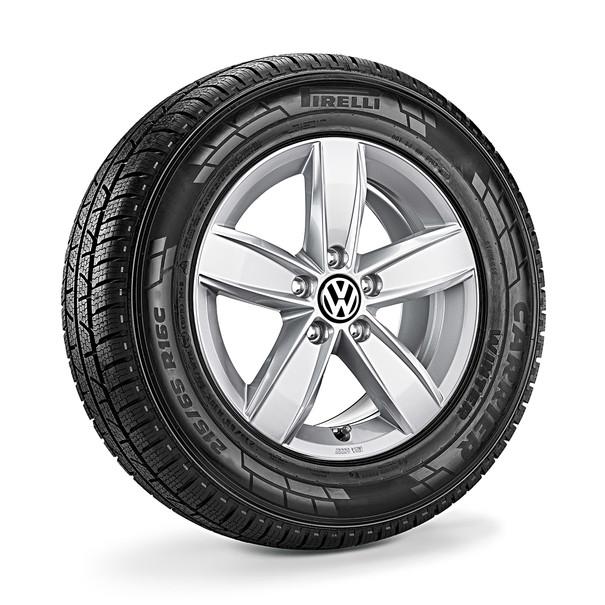 Volkswagen Bedrijfswagens 16 inch lichtmetalen winterset Corvara, Amarok