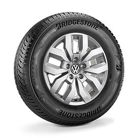 Volkswagen Bedrijfswagens 17 inch lichtmetalen winterset Rocadura, Amarok