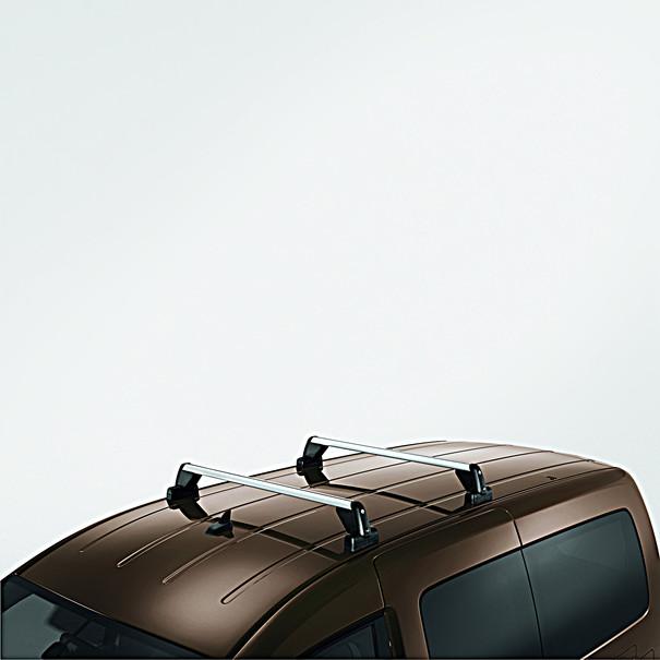 Volkswagen Bedrijfswagens Allesdragers Caddy, zonder dakrailing