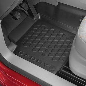 Volkswagen Bedrijfswagens Rubberen mat Caddy, bestuurderszijde