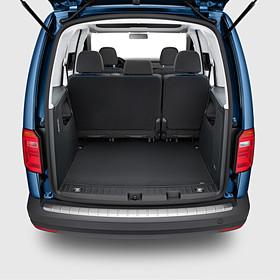 Volkswagen Bedrijfswagens Achterbumper beschermlijst, Caddy 4