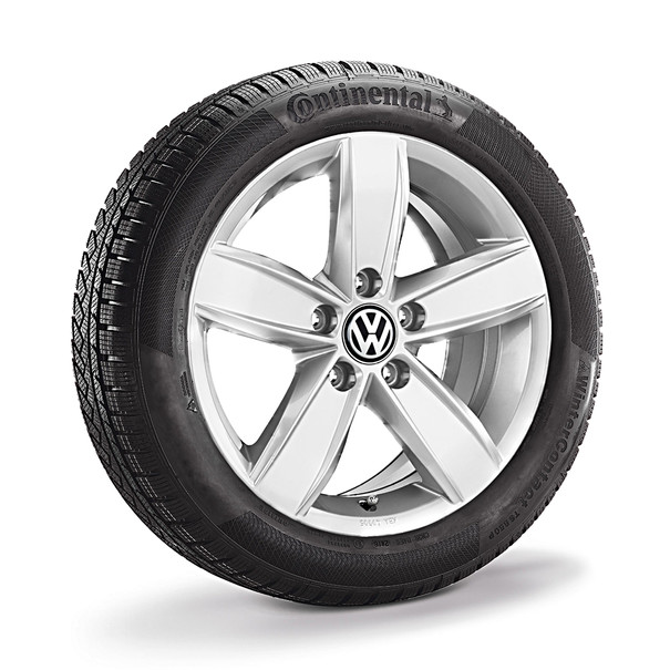 Volkswagen Bedrijfswagens 15 inch lichtmetalen winterset Corvara, Caddy