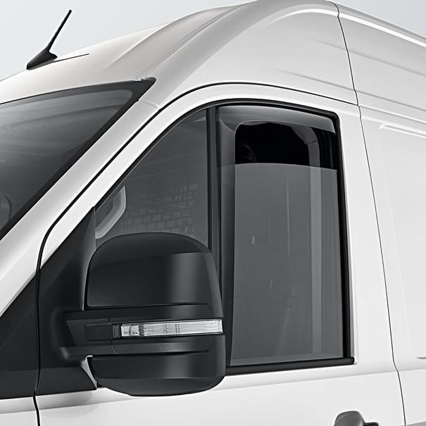 Volkswagen Bedrijfswagens Windgeleiders Crafter, voorportieren