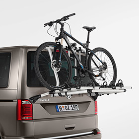 Volkswagen Bedrijfswagens Fietsendrager voor achterklep T6, 4 fietsen