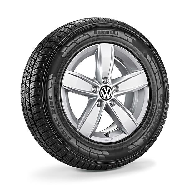 Volkswagen Bedrijfswagens 16 inch lichtmetalen winterset Corvara, T6+T6.1