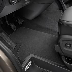 Volkswagen Bedrijfswagens Velours mattenset Transporter, drukknop, voor