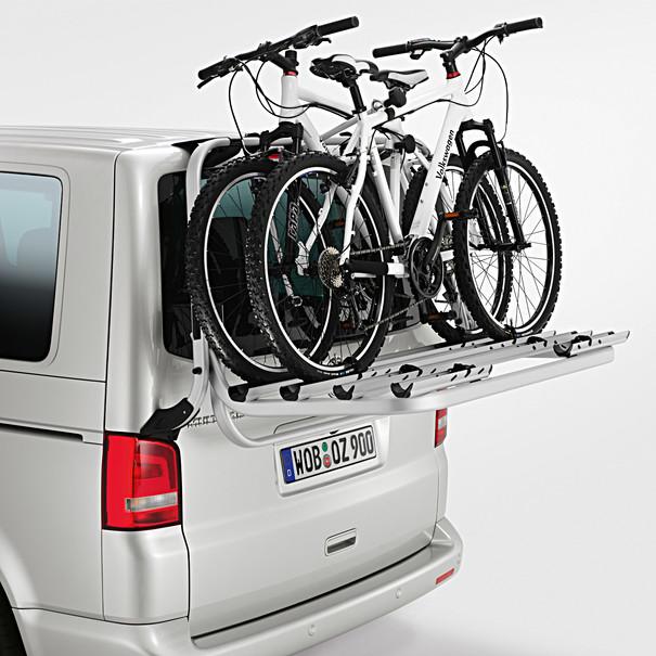 Volkswagen Bedrijfswagens Fietsendrager voor achterklep T5, 4 fietsen
