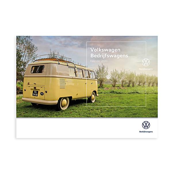 Volkswagen Bedrijfswagens kalender 2020