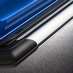 Volkswagen Bedrijfswagens VPS sidebars met LED welkomstverlichting, Transporter lange wielbasis