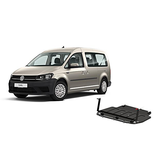 Volkswagen Bedrijfswagens Bodembeschemplaat staal Caddy 4 2.0 TDI
