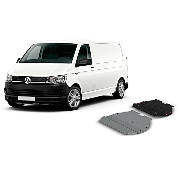 Volkswagen Bedrijfswagens Bodemsbeschemplaat staal T6 / T6.1